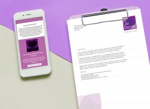 Jo Dover Consulting Brand and Web Design