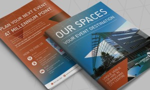 Millennium Point Brochure Design
