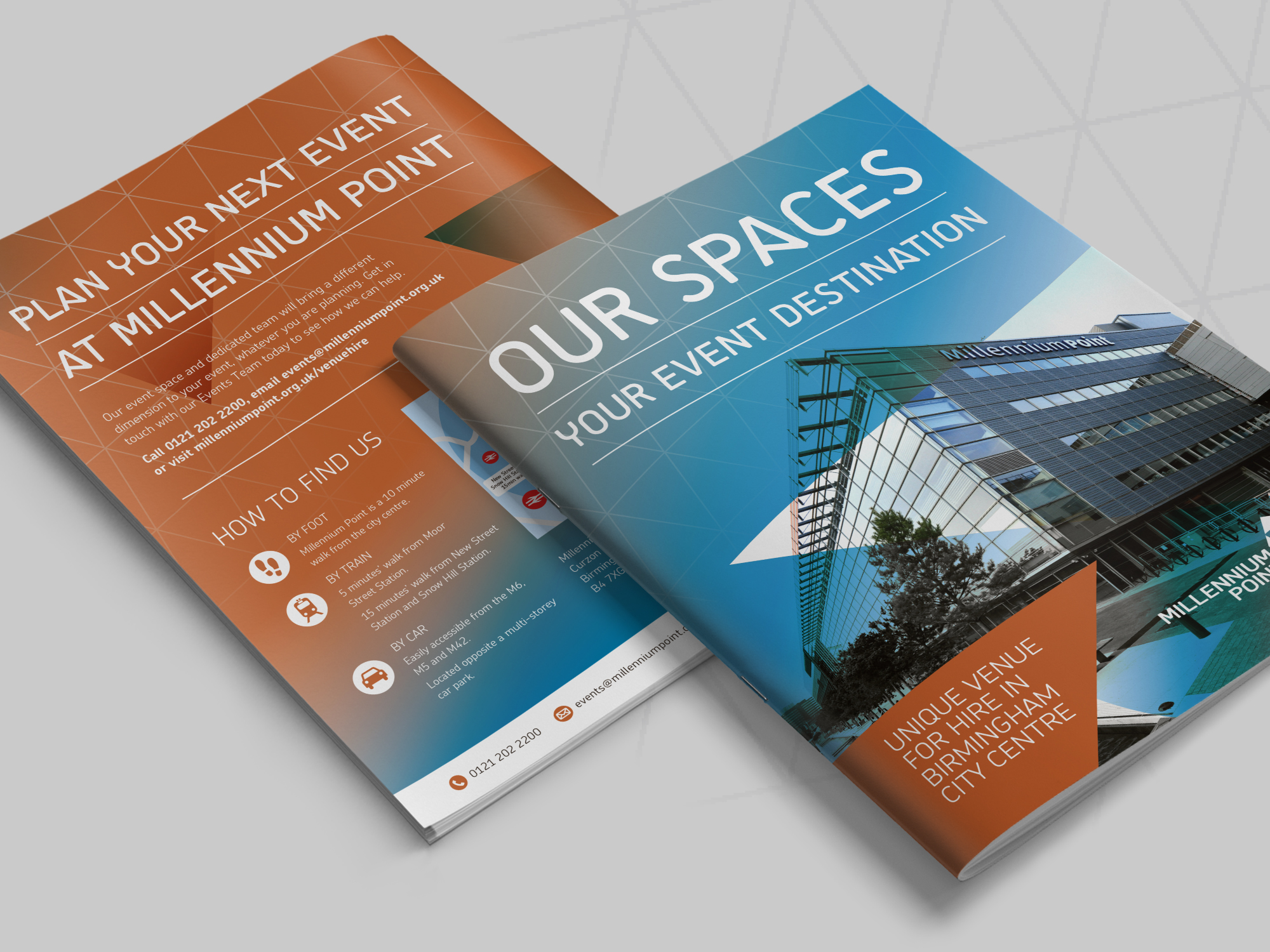 Millennium Point Brochure Design