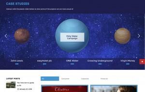 Houston PR Website Design and Build - Case Studies Page
