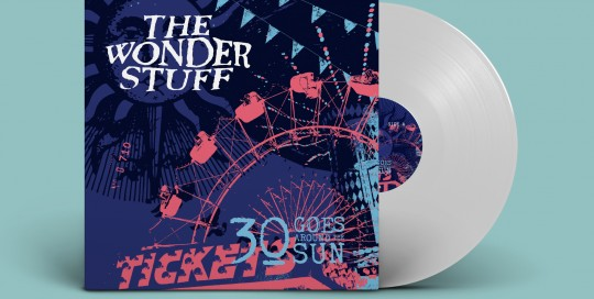 The Wonder Stuff 30 Goes Around The Sun - Pop up LP
