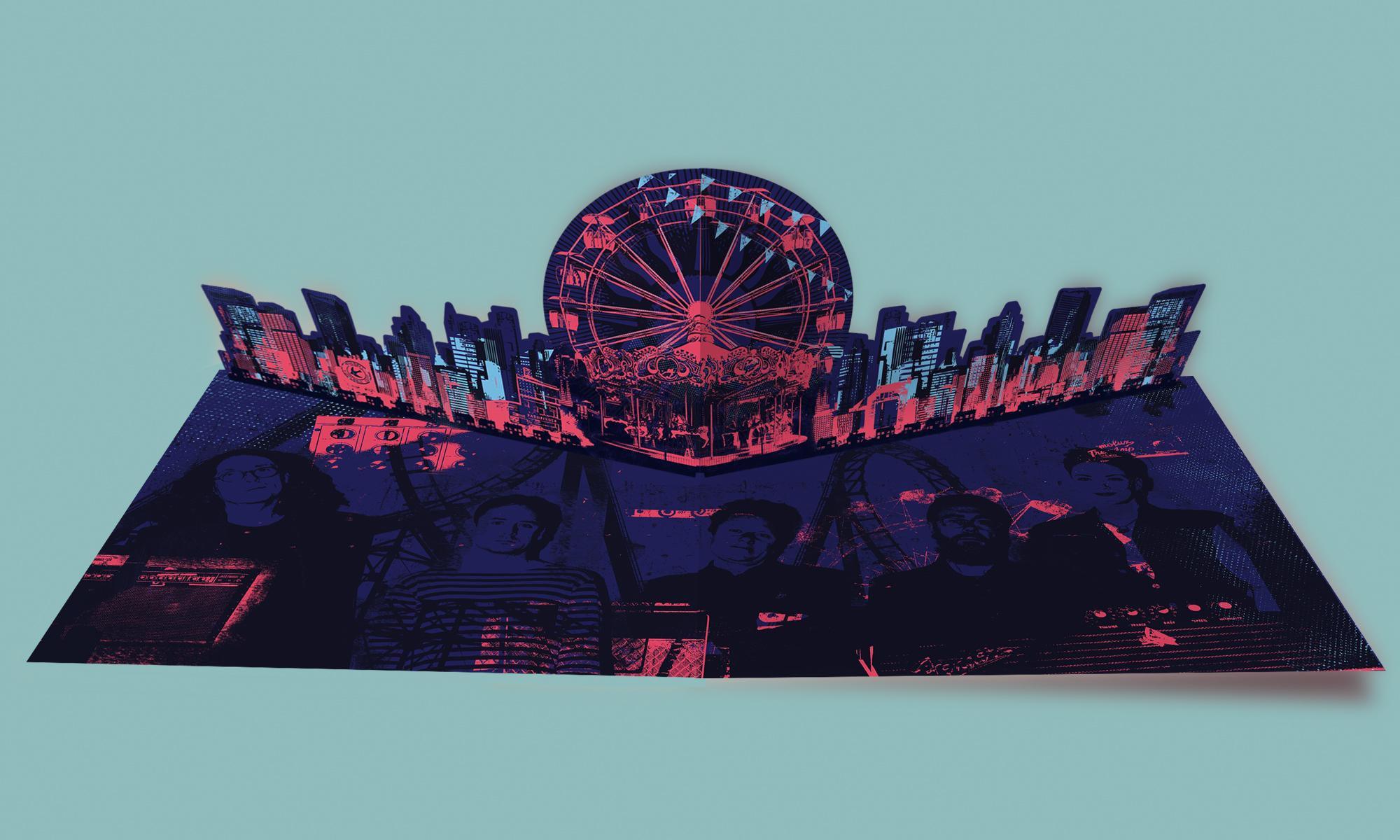 The Wonder Stuff 30 Goes Around The Sun - Pop up LP