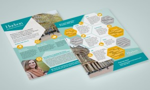 Hudson Recruitment Leaflet Design
