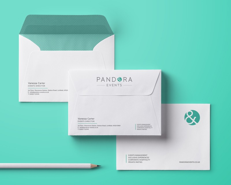 Pandora Events Brand Identity Design