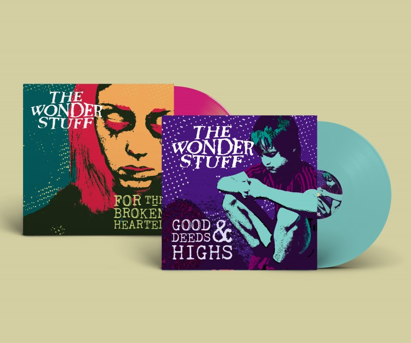 The Wonder Stuff Good Deeds & Highs Sleeve Design
